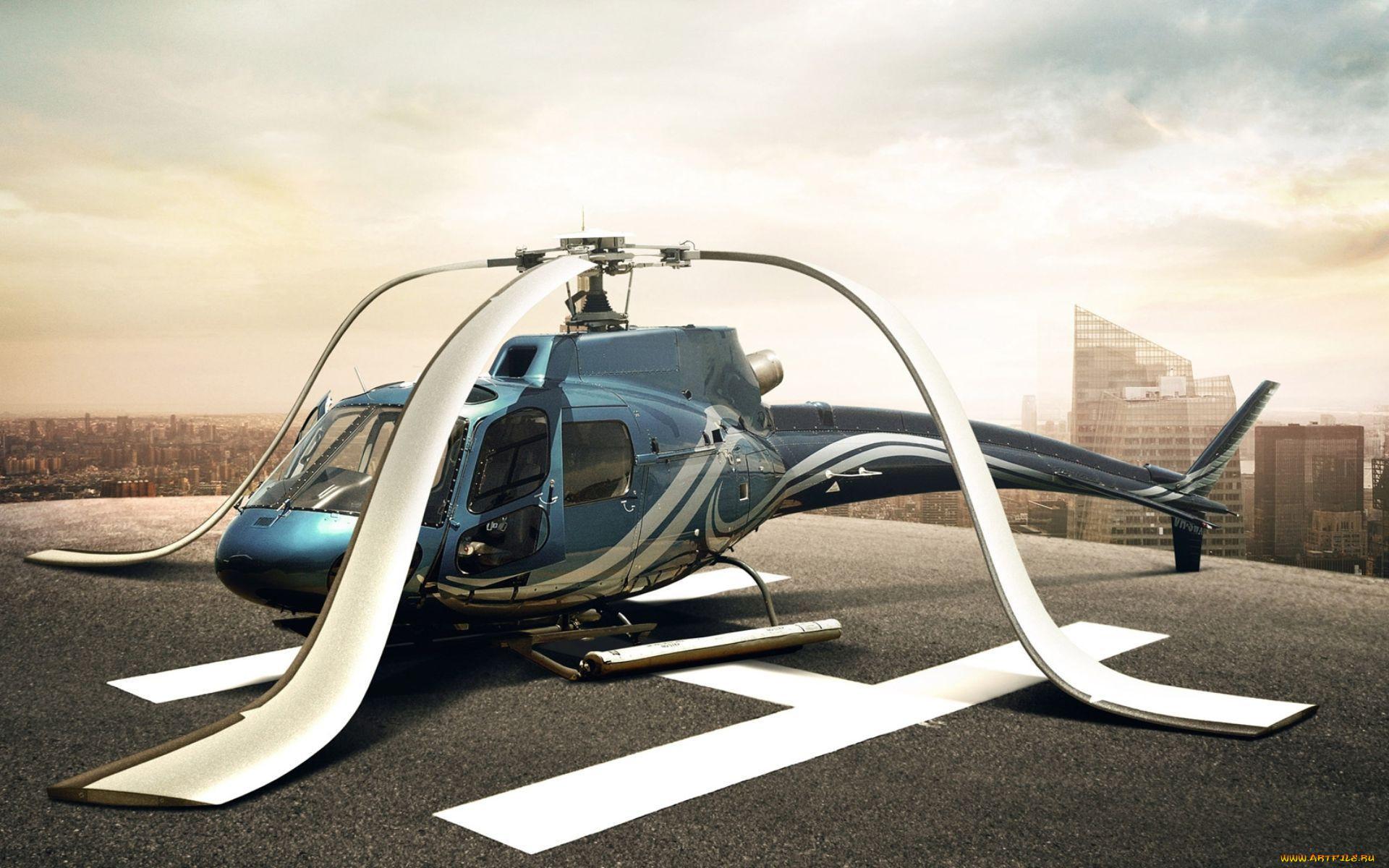 Картинка смешного вертолета